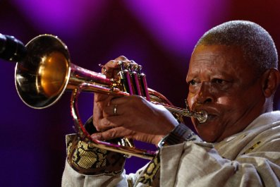 Hugh Masekela Google Doodle jazz South Africa
