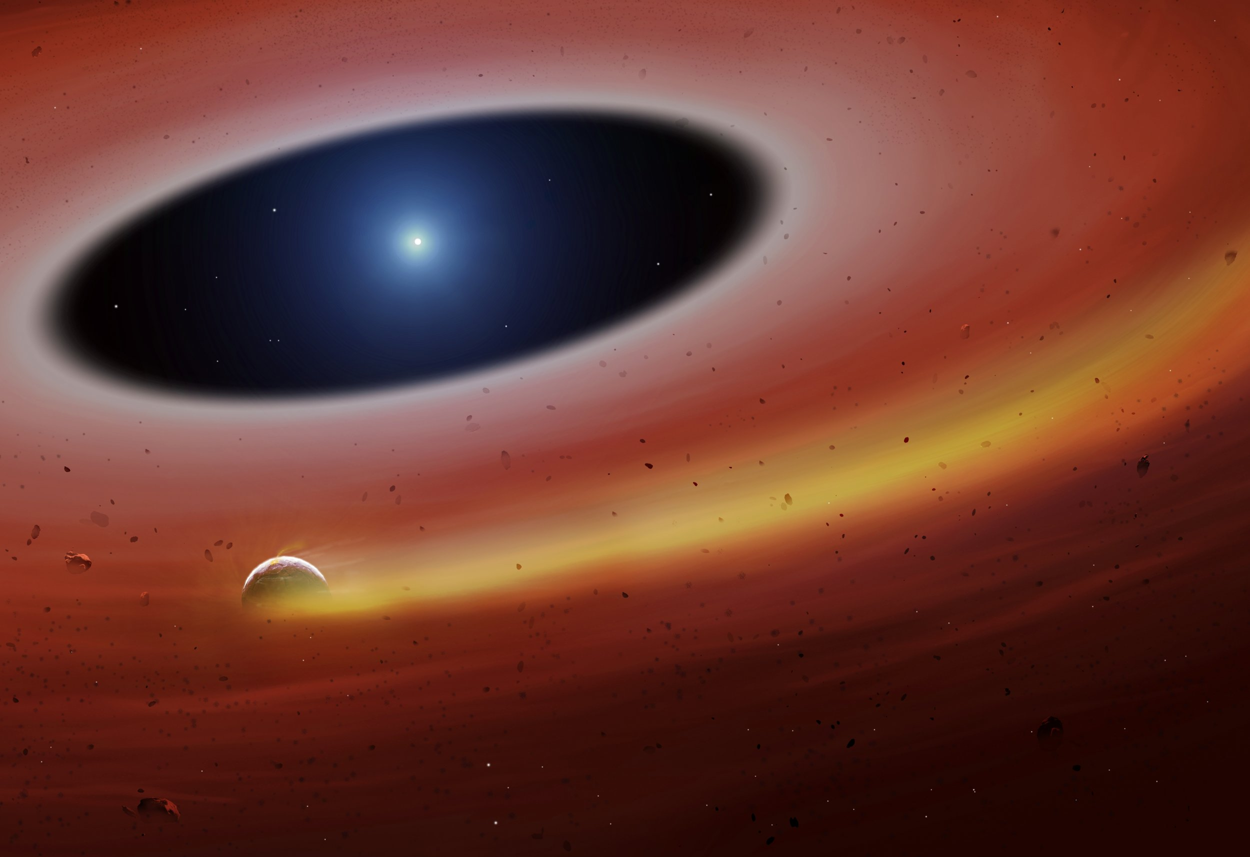 white dwarf planet