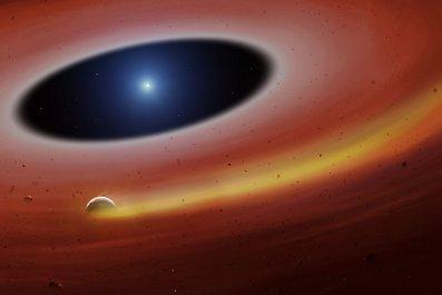 white dwarf planet