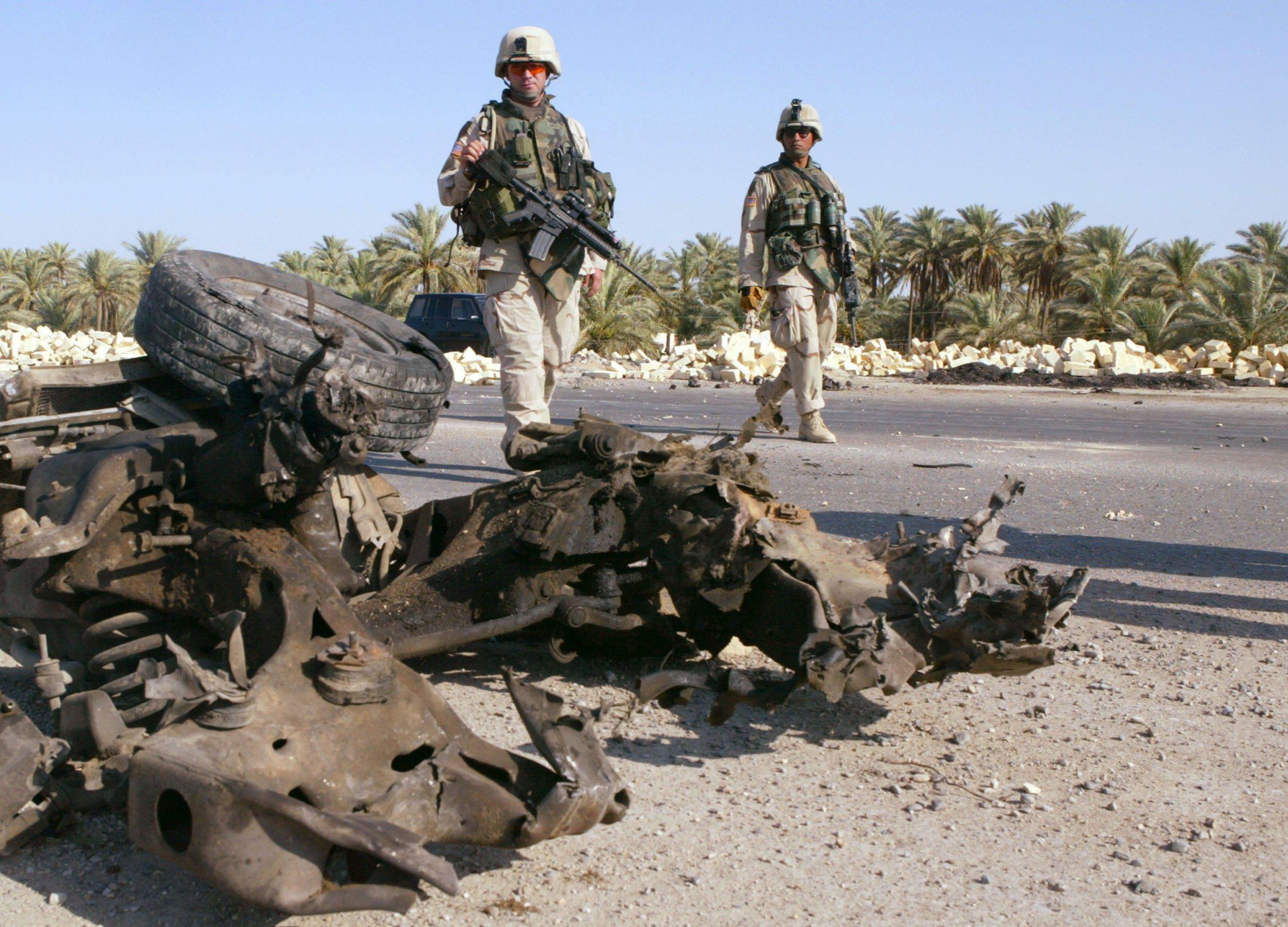 Iran Iraq War US troops killed