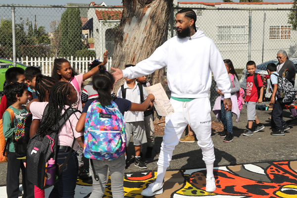 Nipsey Hussle's Brother Samiel Asghedom Remembers Rapper: 'He Was a Role Model to the Community'