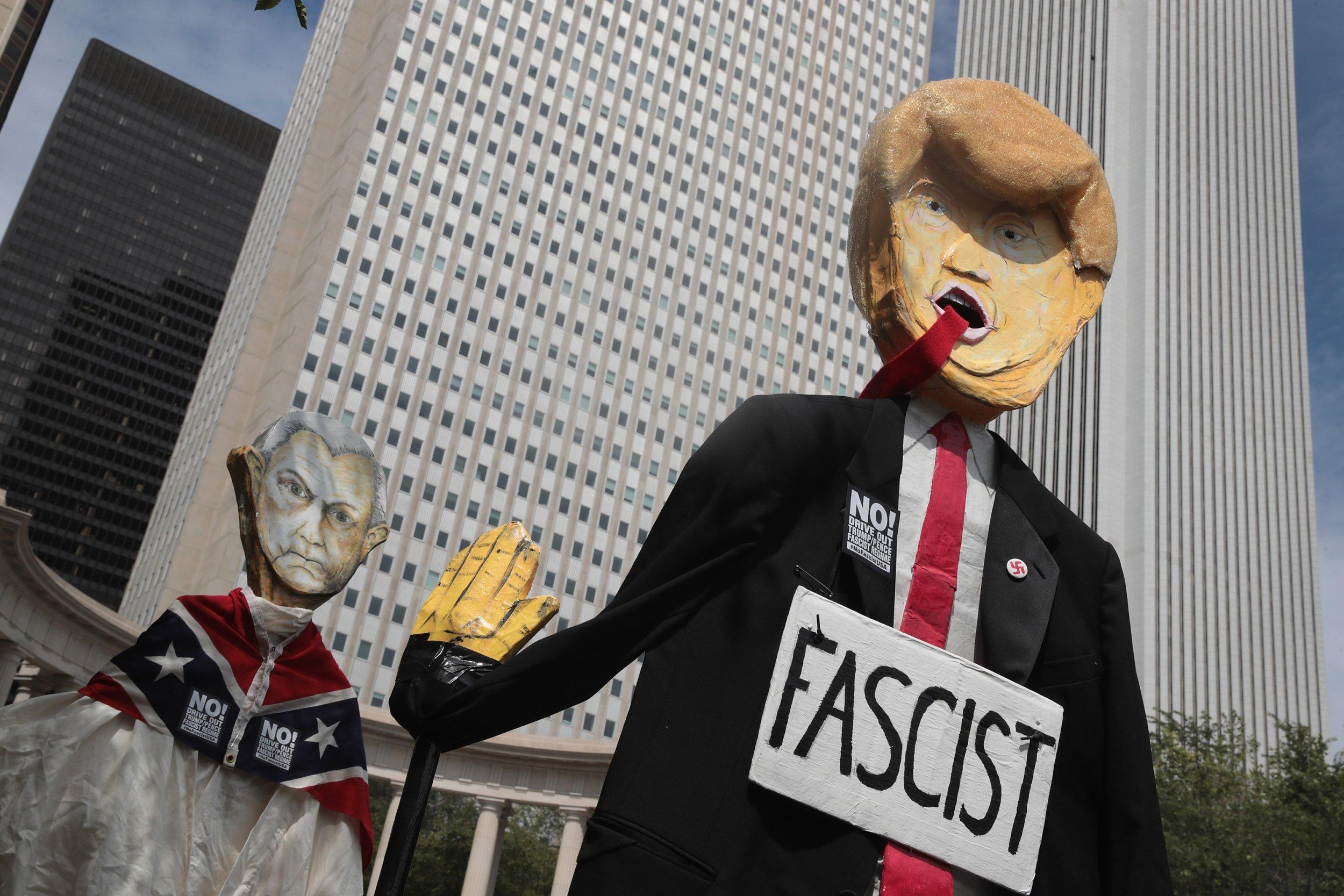 donald trump, fascism, berkeley professor, dylan riley