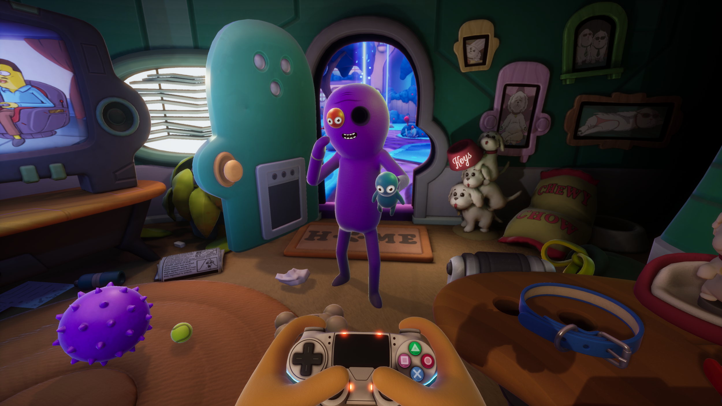 Trover Saves the Universe Rick and Morty Justin Roiland