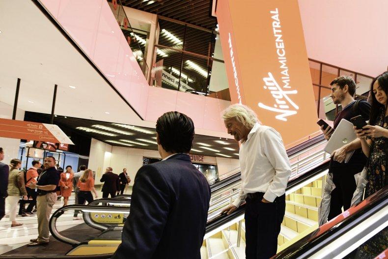 Richard Branson Virgin Trains USA MiamiCentral