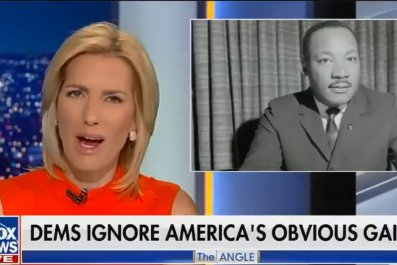 Laura Ingraham Fox News MLK