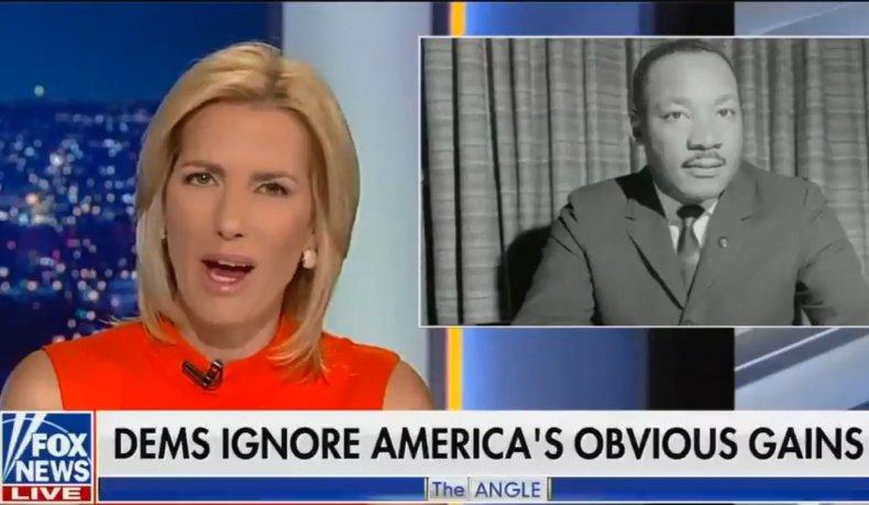 Laura Ingraham Fox News MLK