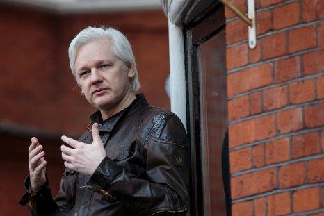 Julian Assange, Ecuadorean embassy, London