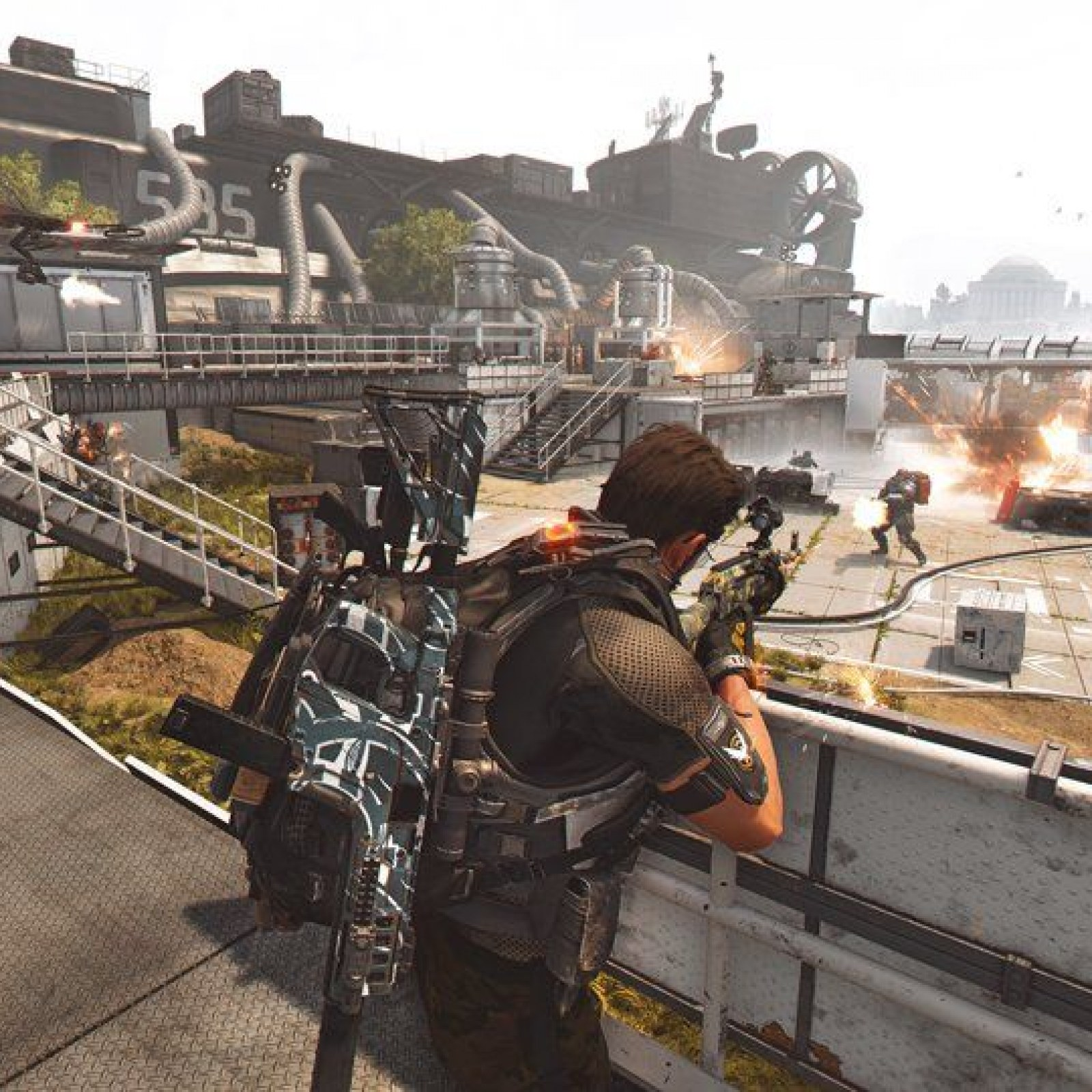 Division 2' Update 1 05 Adds World Tier 5 & Tidal Basin