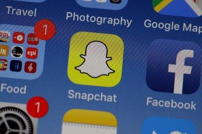 social media apps on screen