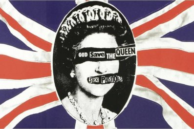 god save the queen punk sex pistols