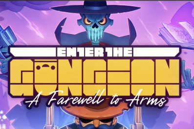 Enter, the, gungeon, gunslinger, new, characters, how, to, unlock, paradox, farewell, to, arms, update, patch, notes