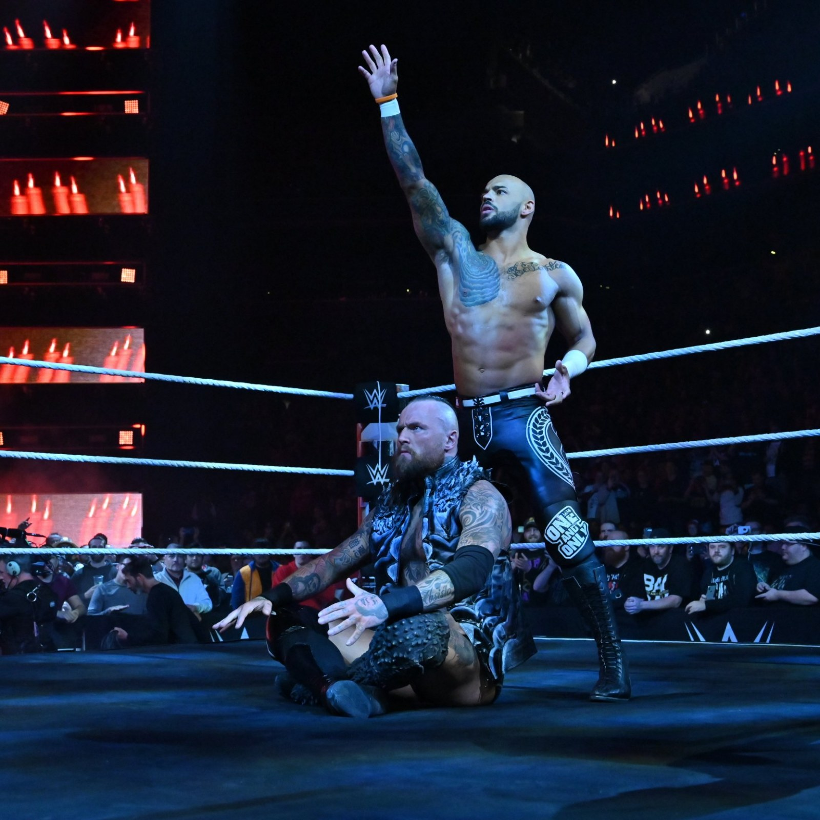 Ricochet and Aleister Black Have Final NXT Match at Takeover: New York;  Triple H 'Concerned' During Finish