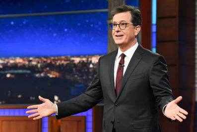 Stephen Colbert Roasts Donald Trump: 'So Many People Can't Stand Him'
