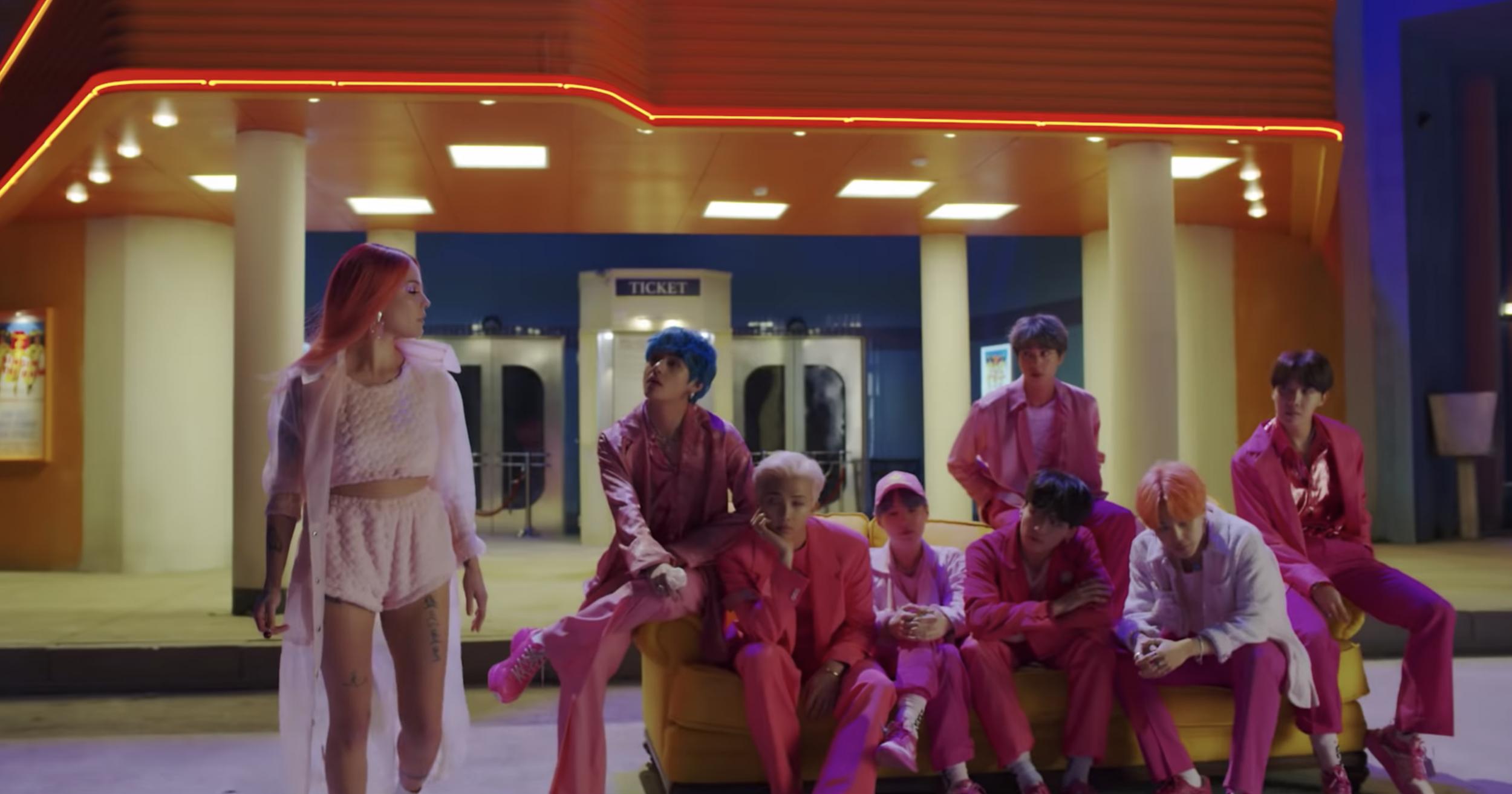 BTS Fans React to 'Boy With Luv' Teaser Featuring Halsey: 'I