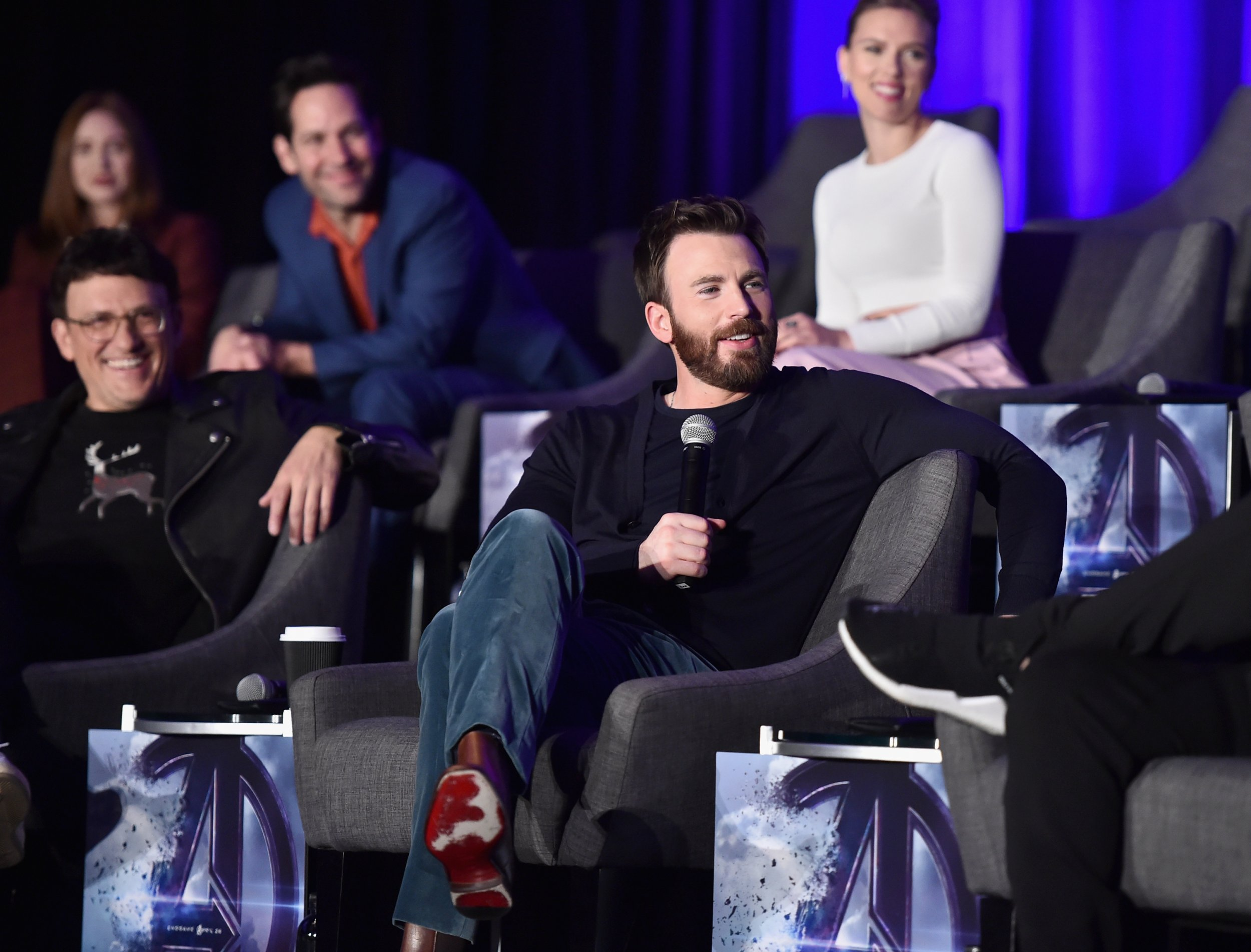 Chris Evans Almost Spoils Captain America Fate During 'Avengers: Endgame' Press Conference