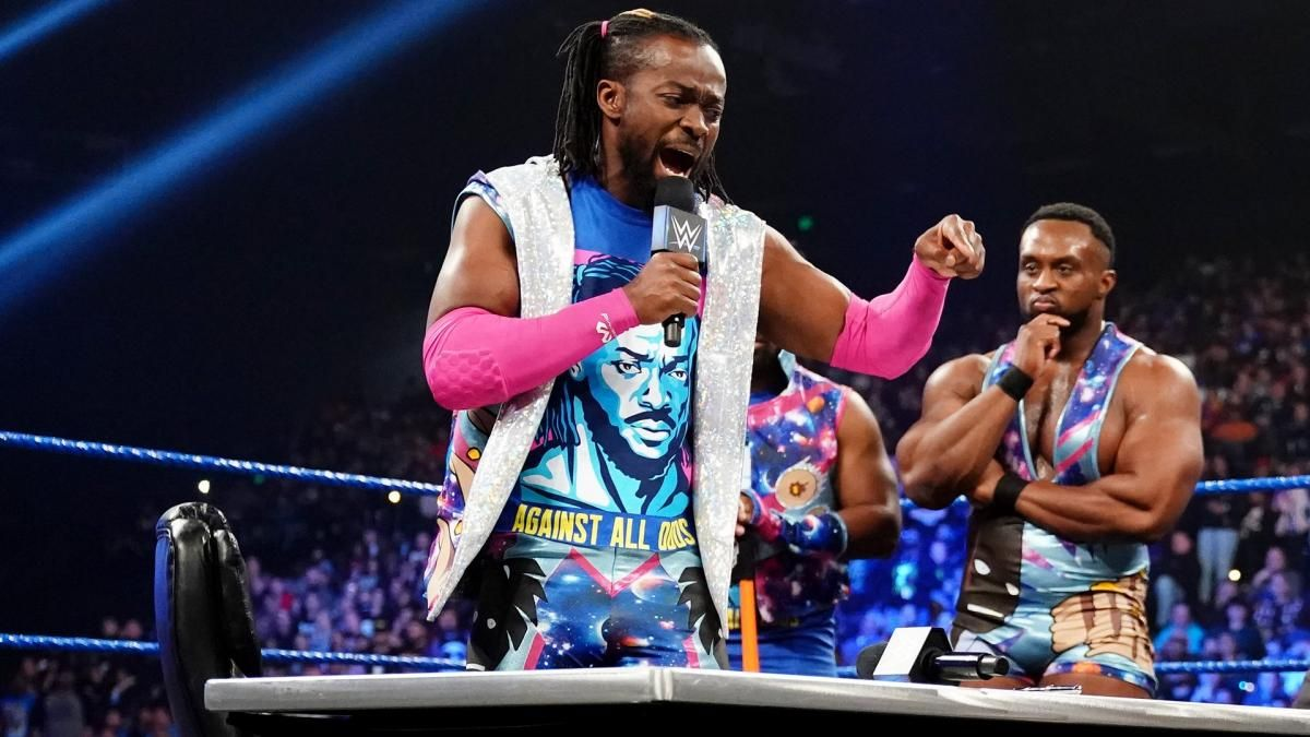 kofi kingston wins wwe championship wrestlemania 35 daniel bryan