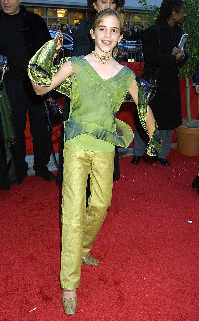 3 Emma Watson Style Evolution - 2001