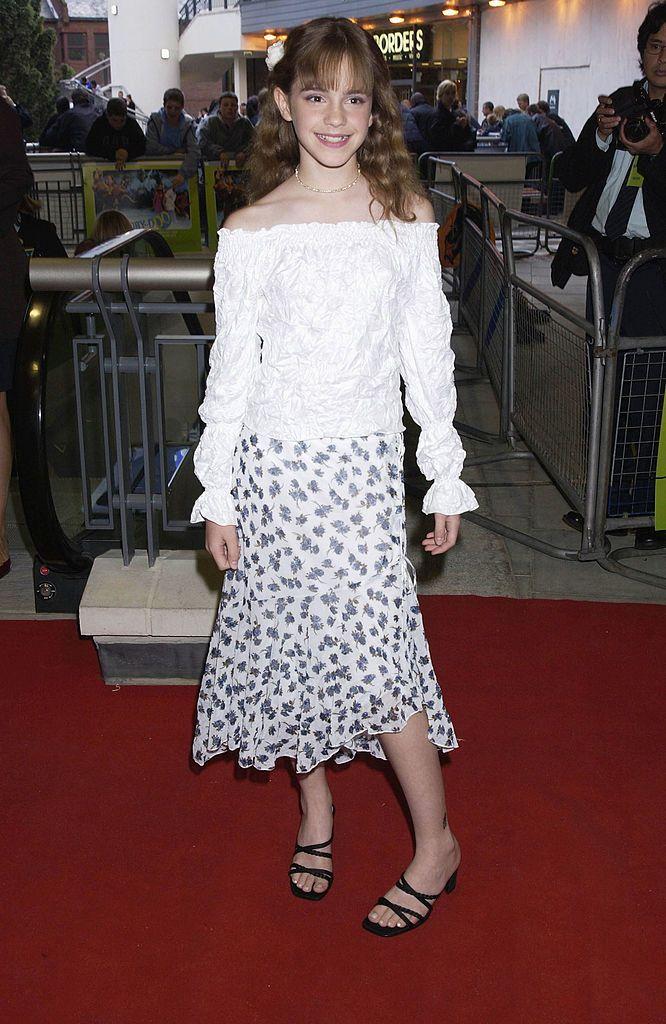 4 Emma Watson Style Evolution - 2002