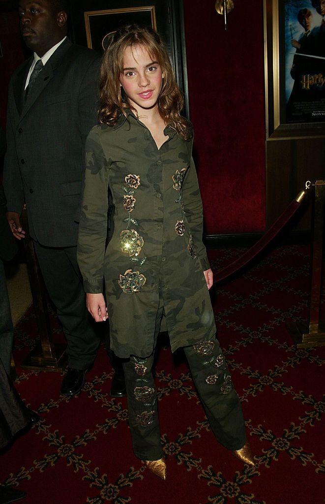 6 Emma Watson Style Evolution - 2002