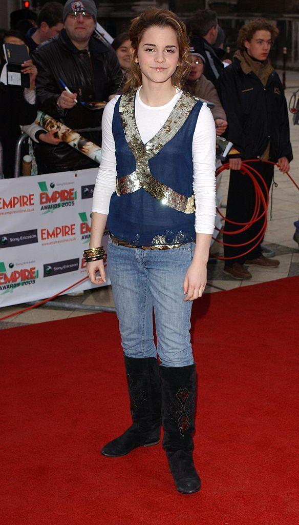 10 Emma Watson Style Evolution - 2005