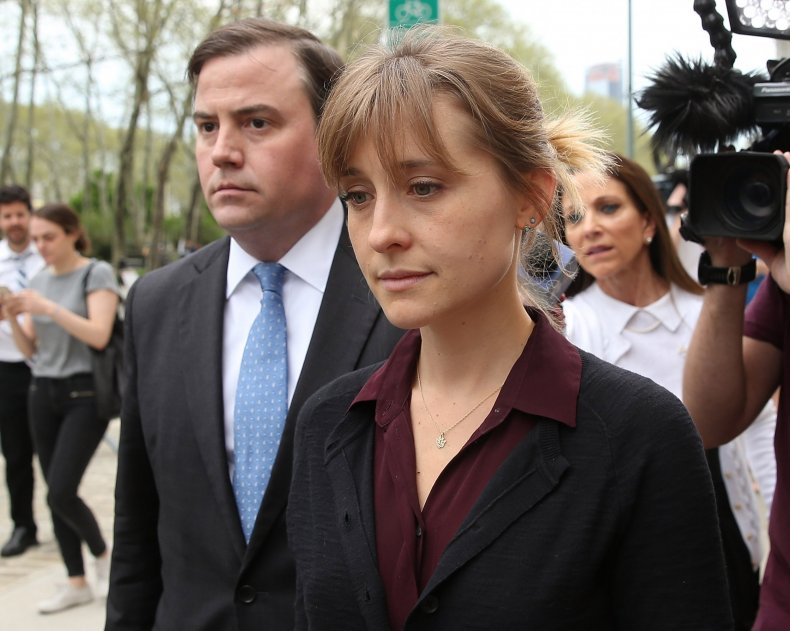 Allison Mack Pleads Guilty to Sex Cult Charges