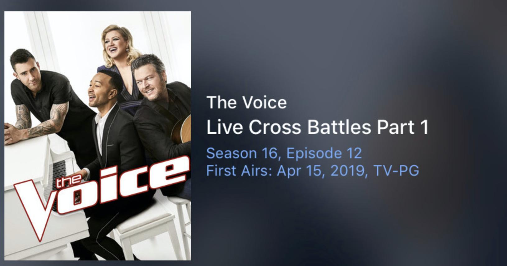 the voice season 12 episode 1