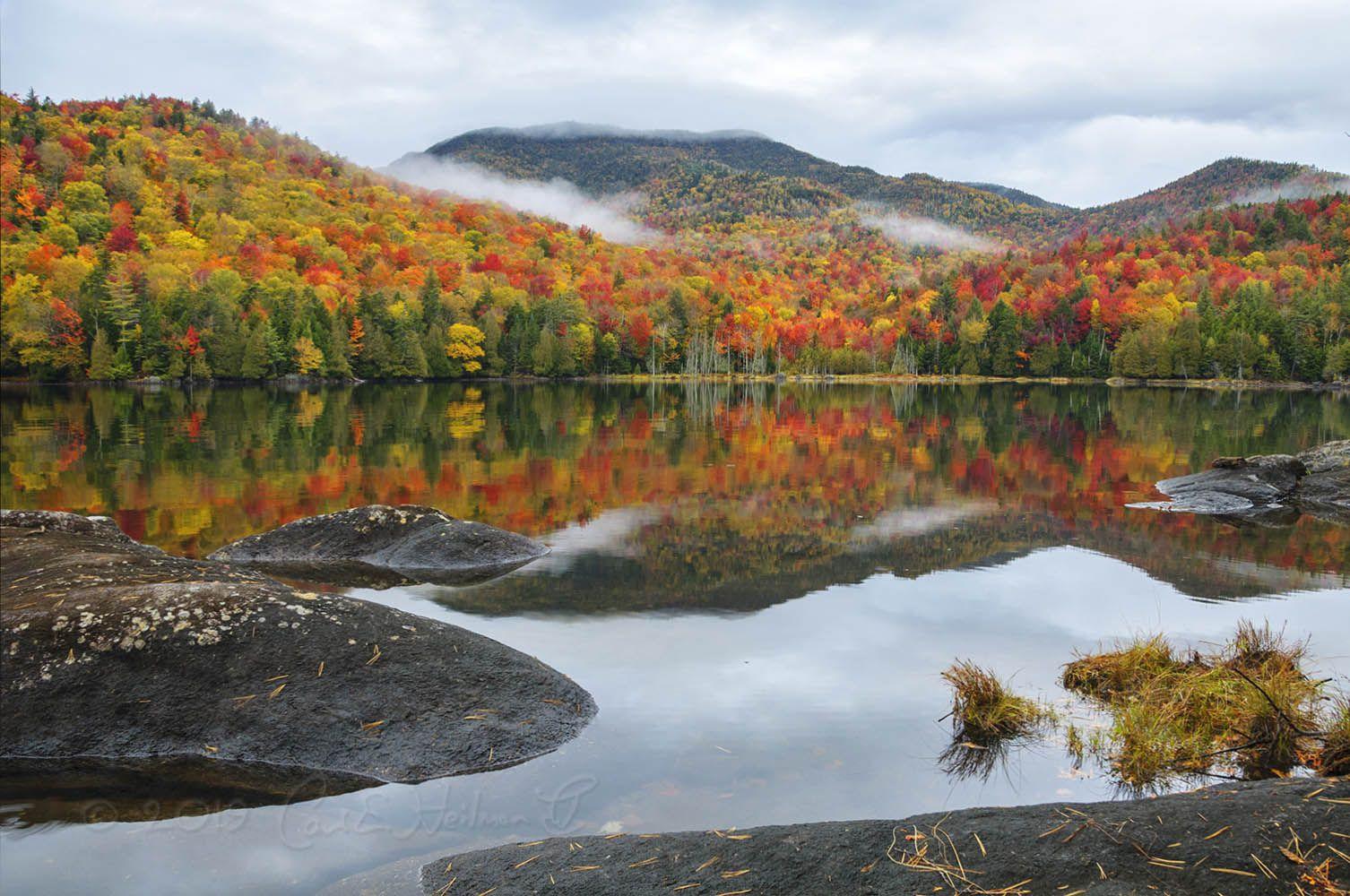 3 The Trails of the Adirondacks - Fall lake