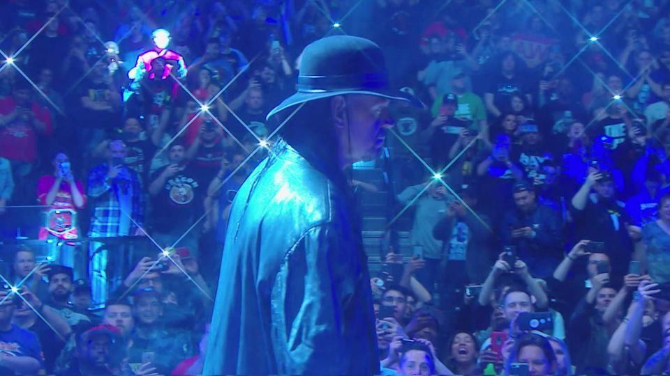 undertaker raw after wrestlemania interrupts elias segment video