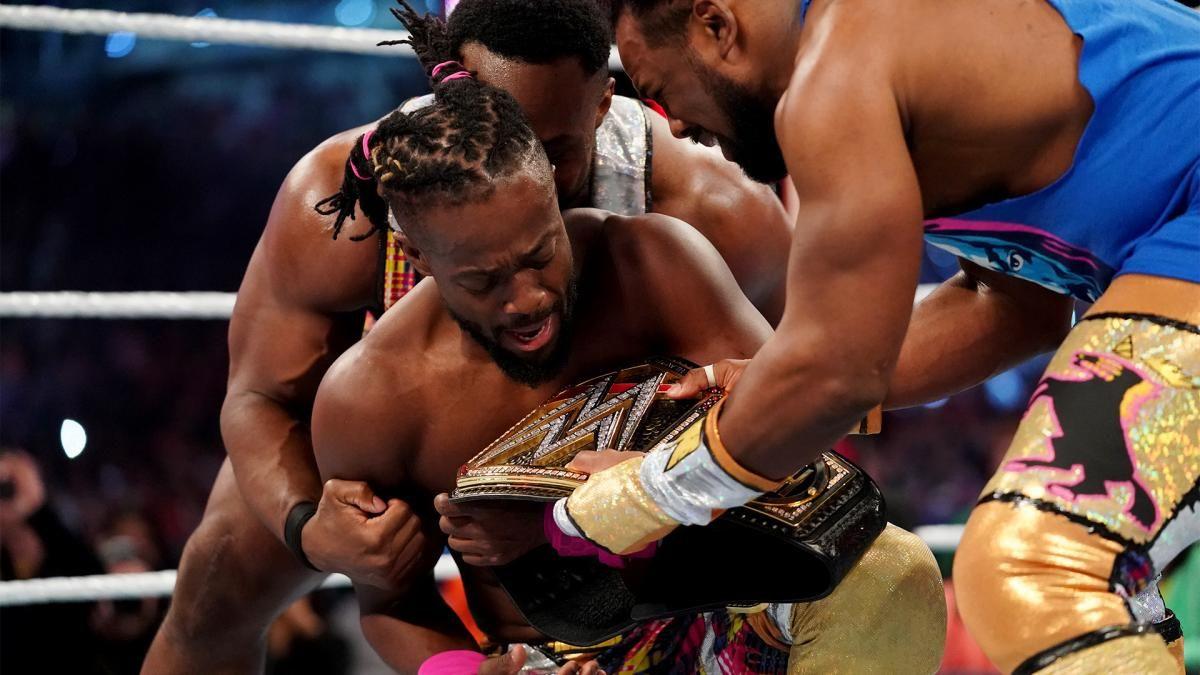 kofi kingston wins wwe championships smackdown live results april 9