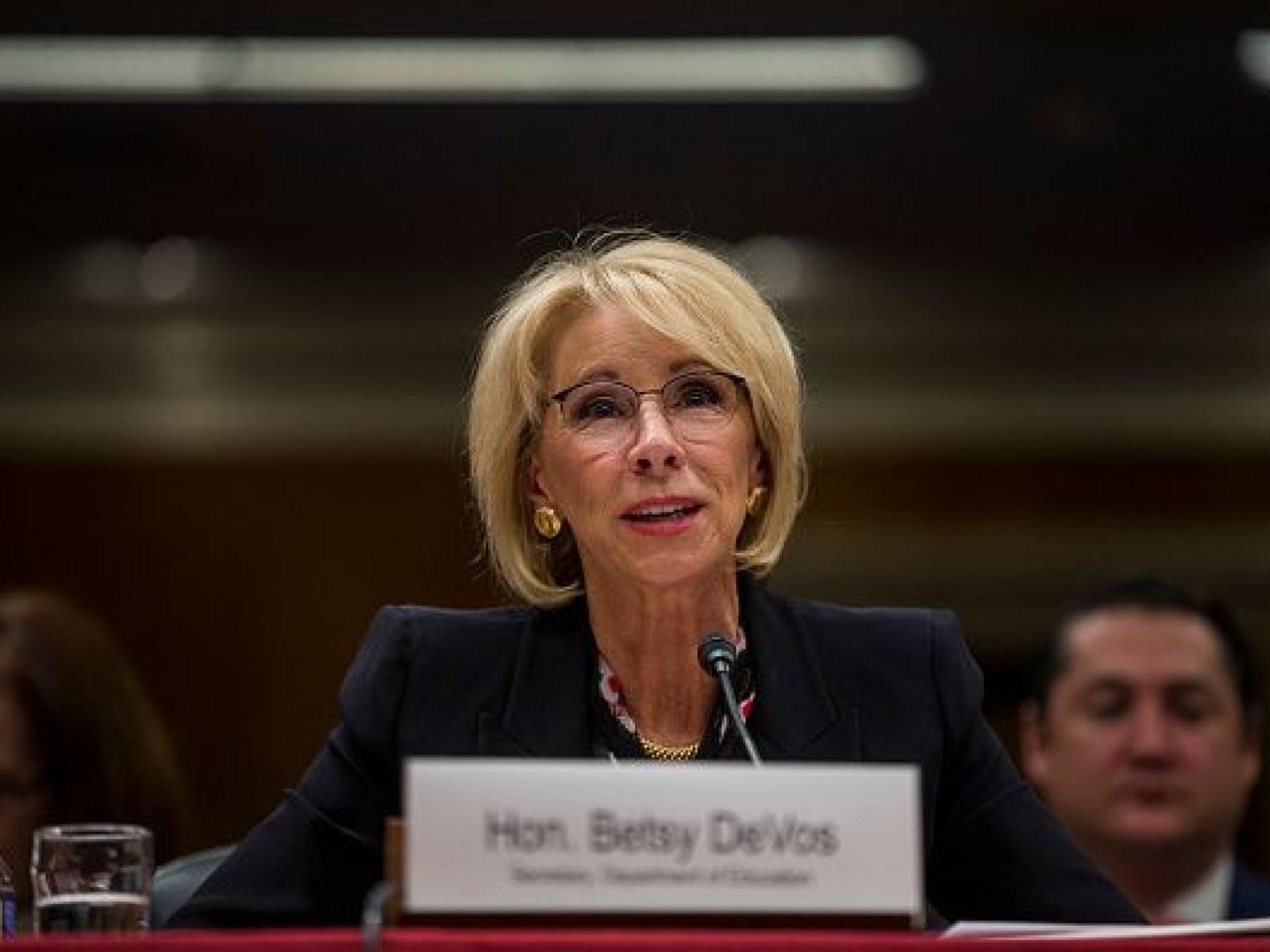Democrats Demand Betsy Devos Reveal | Best Upcoming Cars Reviews
