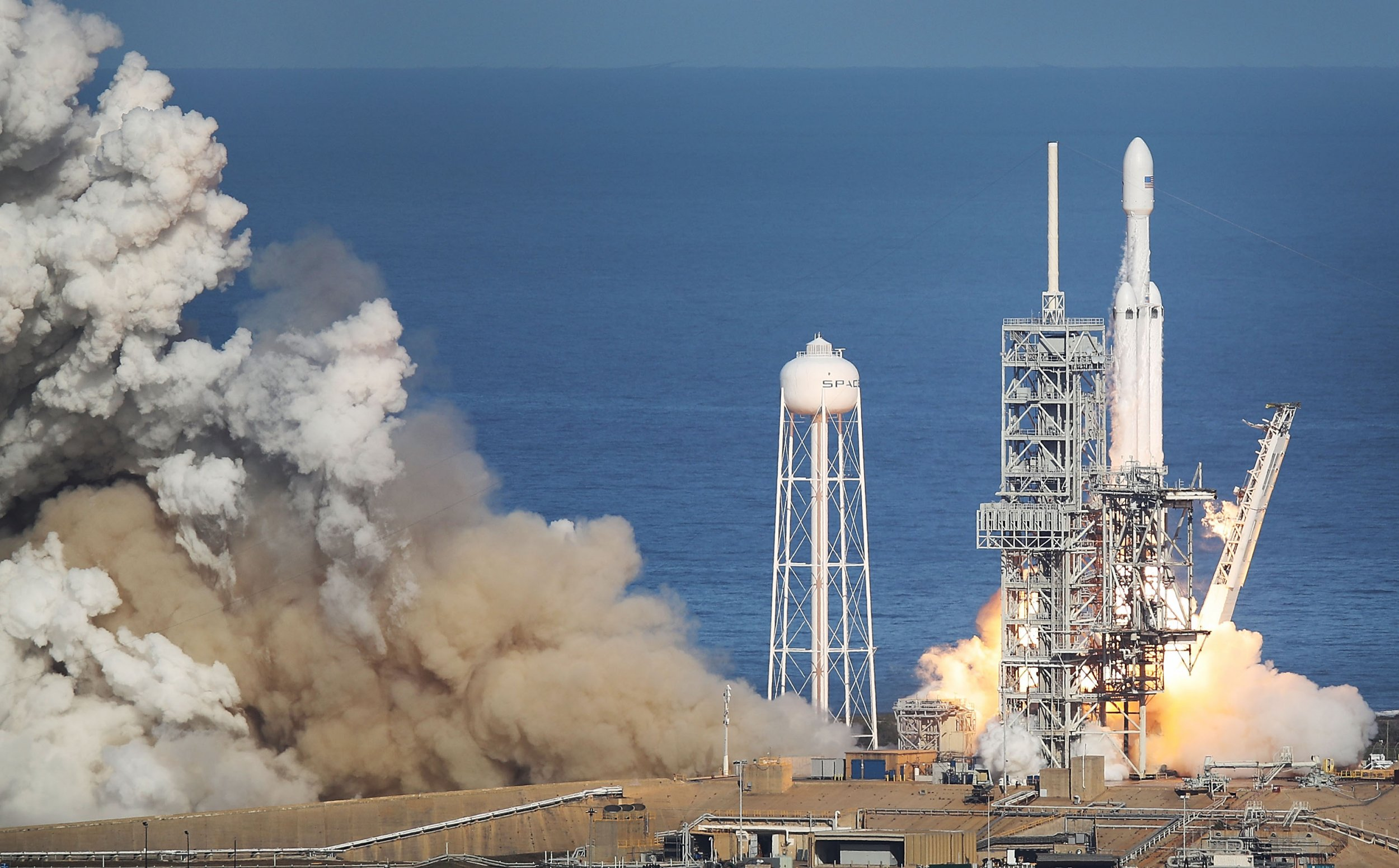 SpaceX, Falcon Heavy, Cape Canaveral, Florida