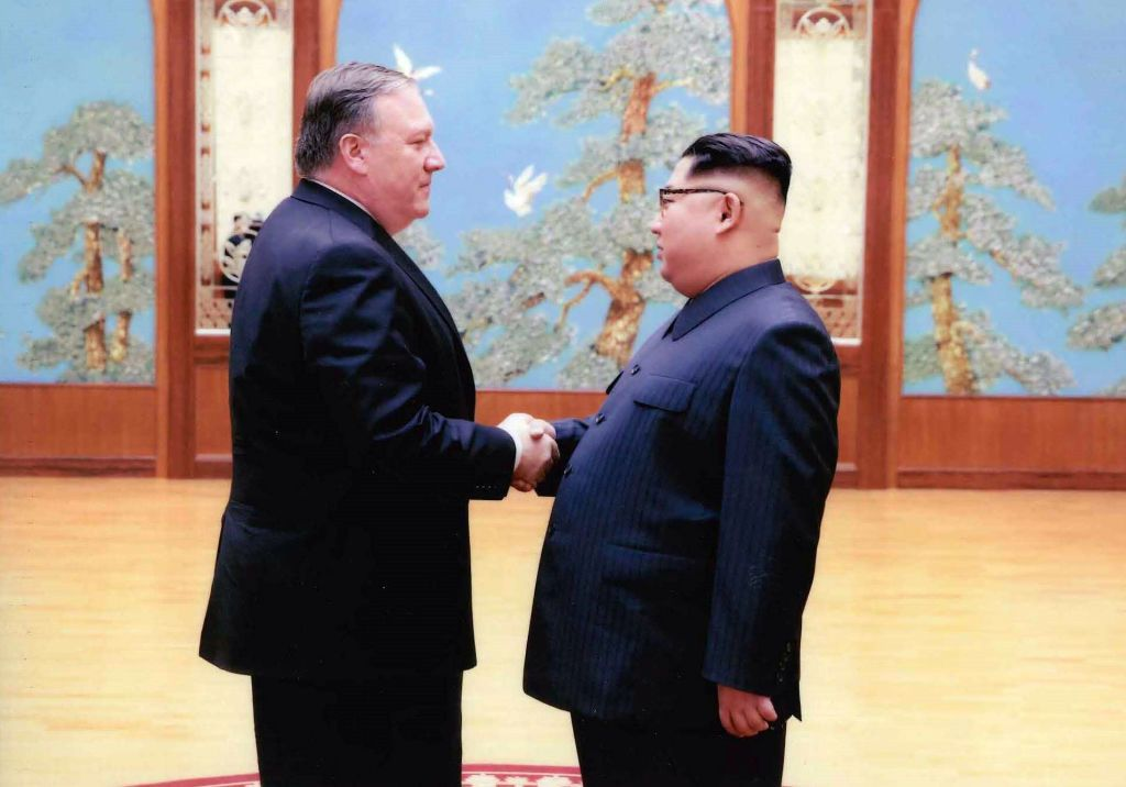 mike pompeo, north, korea, donald, trump