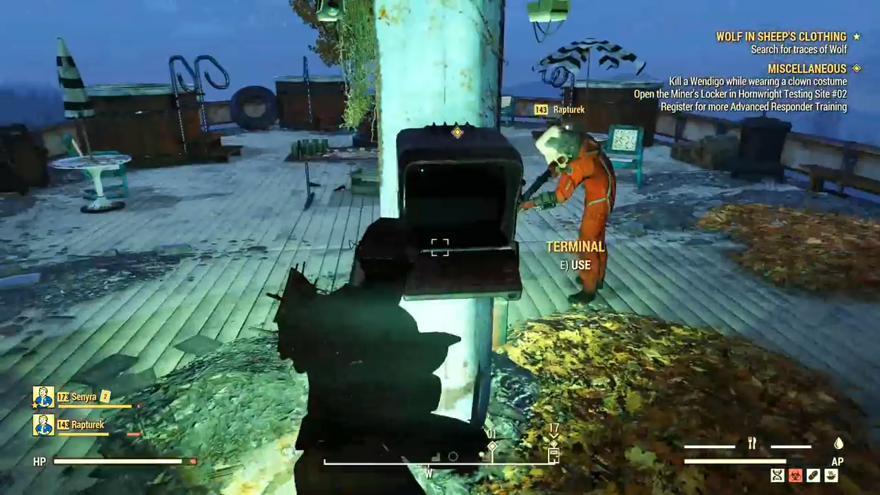 Fallout 76 wolf card terminal