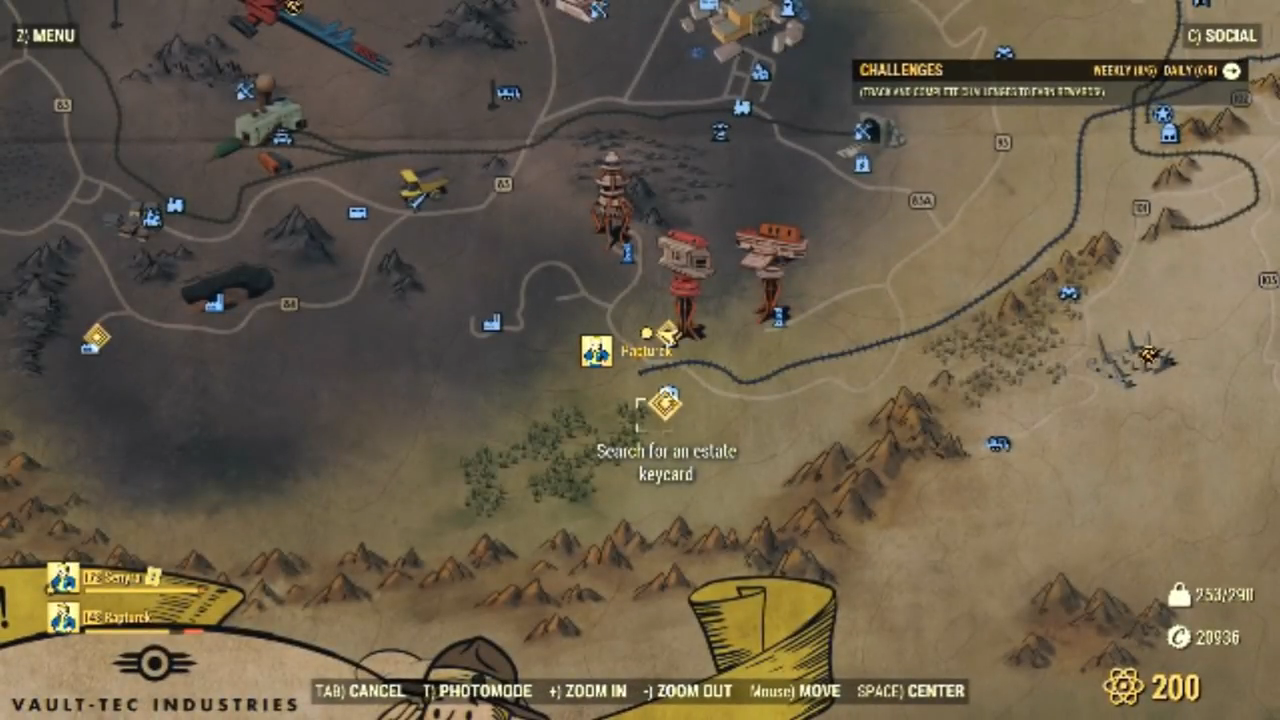 Fallout 76 wolf card location