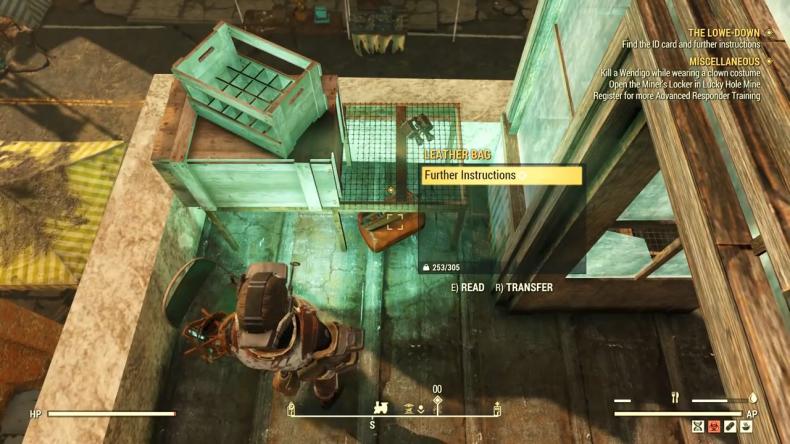 Fallout 76 Lowe Down Quest Guide Recall Keycard Circuit Board Walkthrough