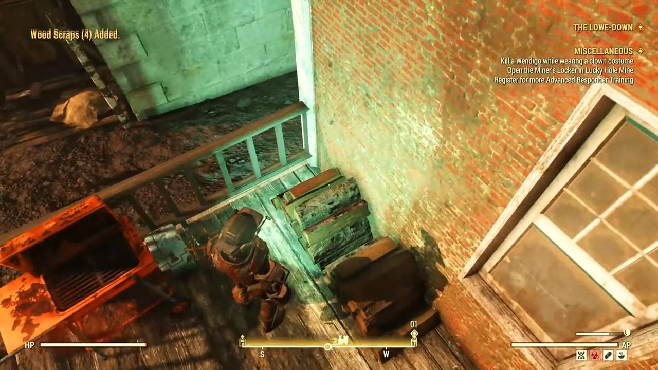 Fallout 76 lowe down flamingo holo