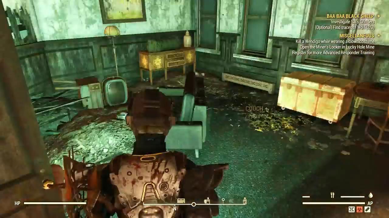 Fallout 76 baa baa terminal room