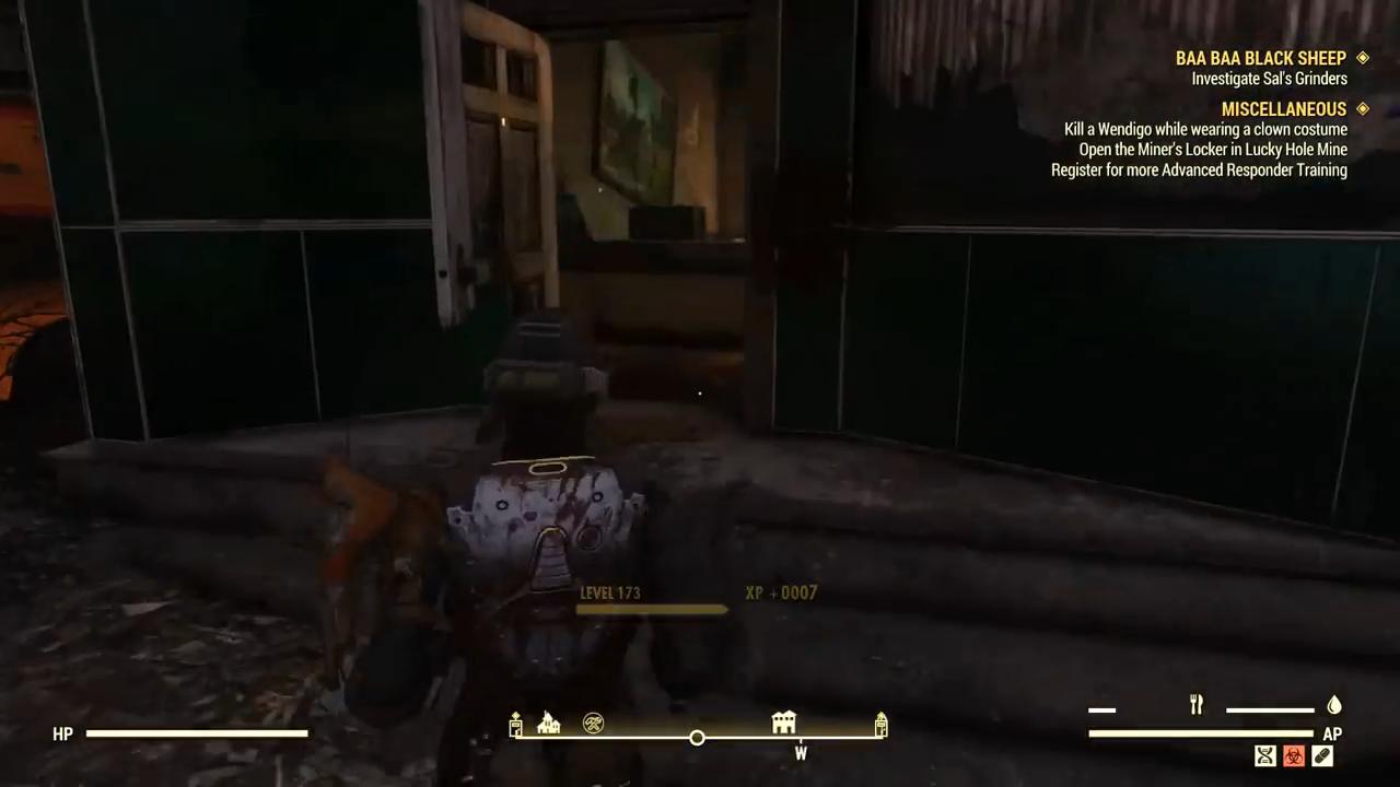 Fallout 76 baa baa sals gameplay