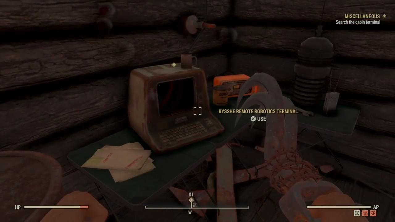 Fallout 76 pylon terminal