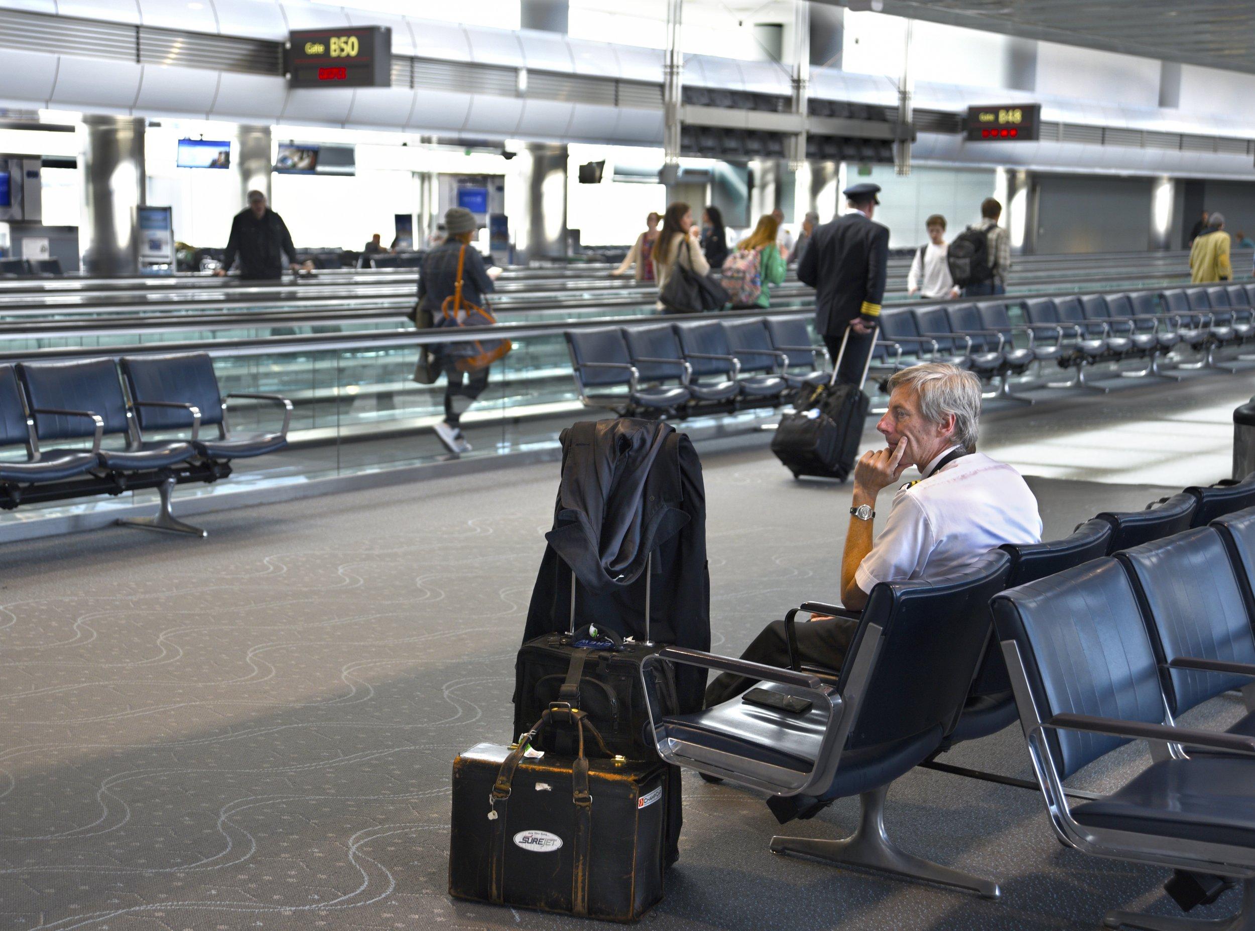 waiting in denver airport