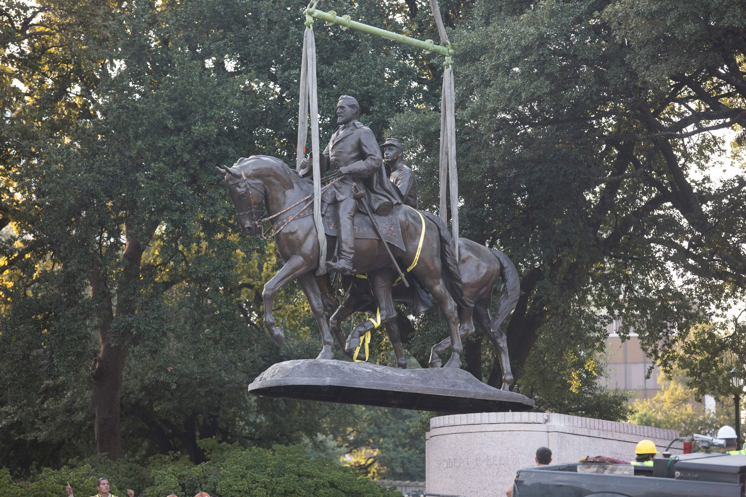confederate statue texas