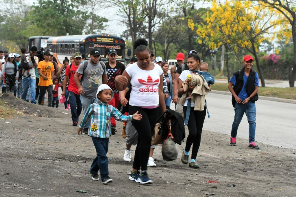 Honduran, migrants, US, border, Trump, Central, America