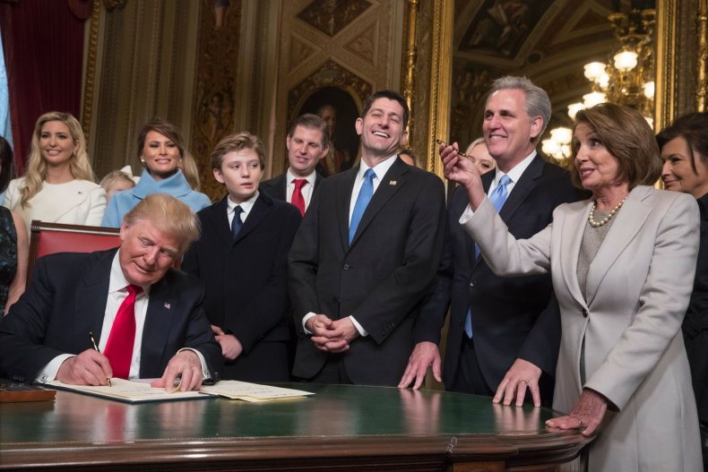 donald, trump, ivanka, democrat, pelosi