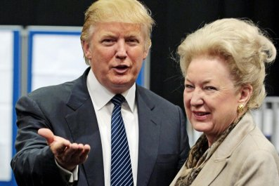 Donald Trump Maryanne Trump Barry sister