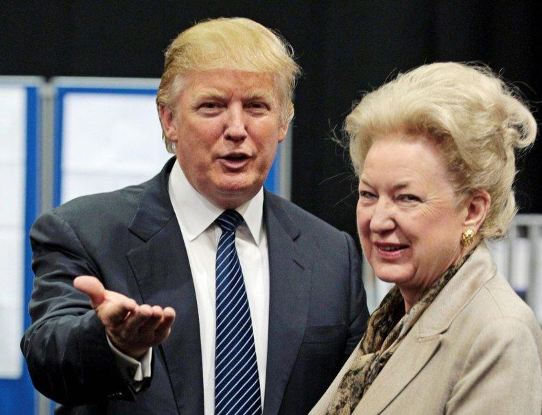 Donald Trump Maryanne Trump Barry sister