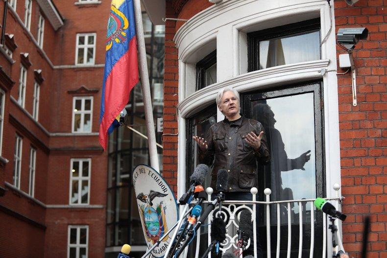 Julian Assange WikiLeaks arrested death penalty extradition