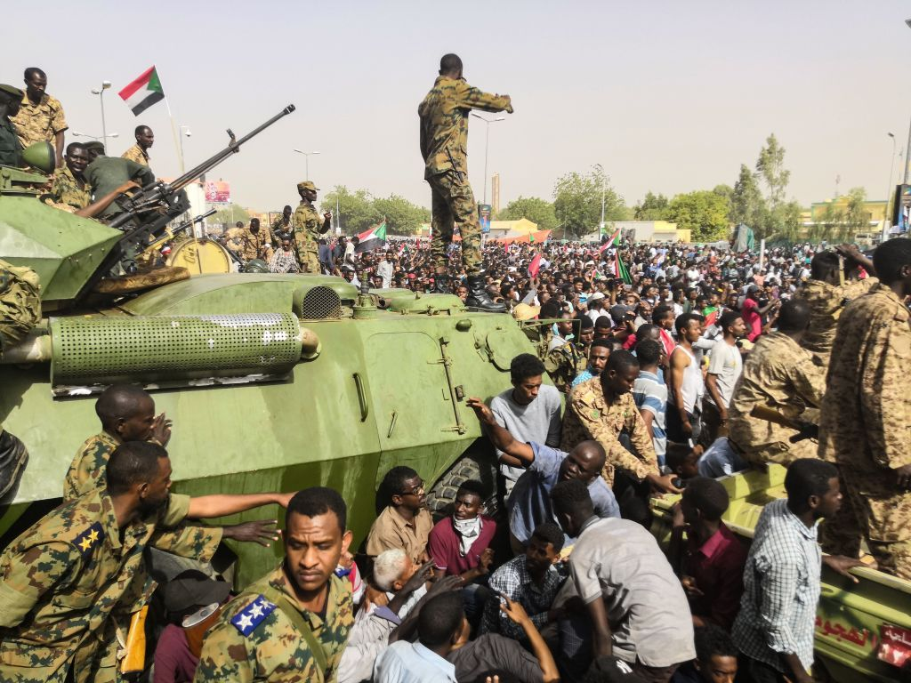 Reports of Sudan military coup amid rumours that Bashir is stepping down