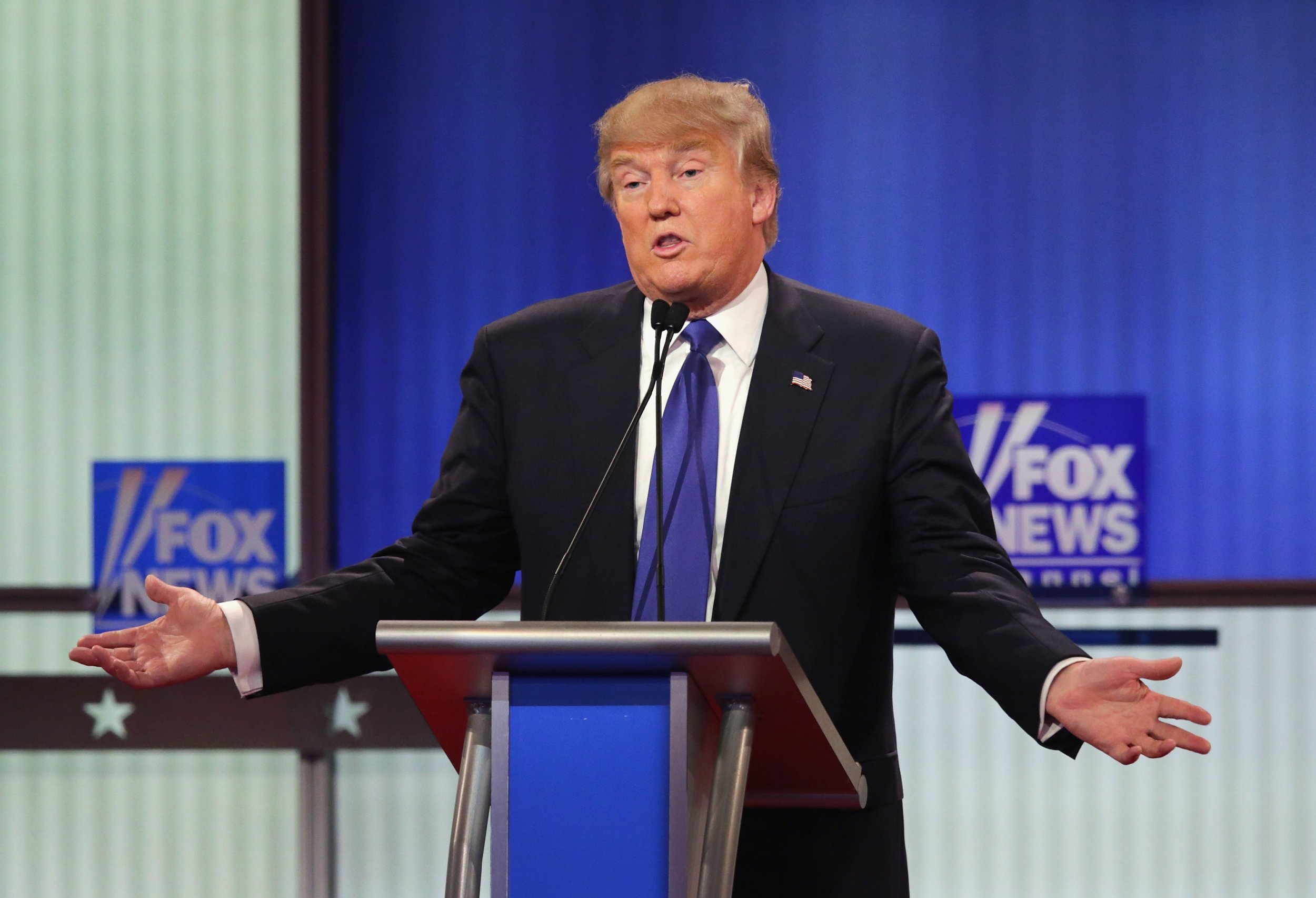 fox, business, donald, trump, approval, rating,