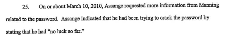 Assange hack