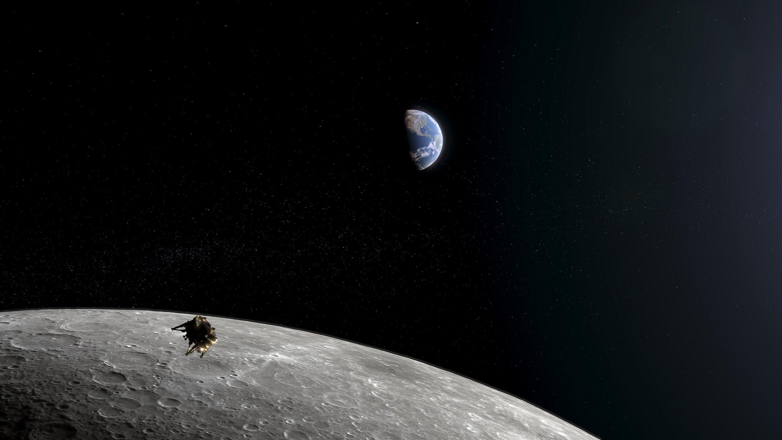 SpaceIL, Beresheet, moon